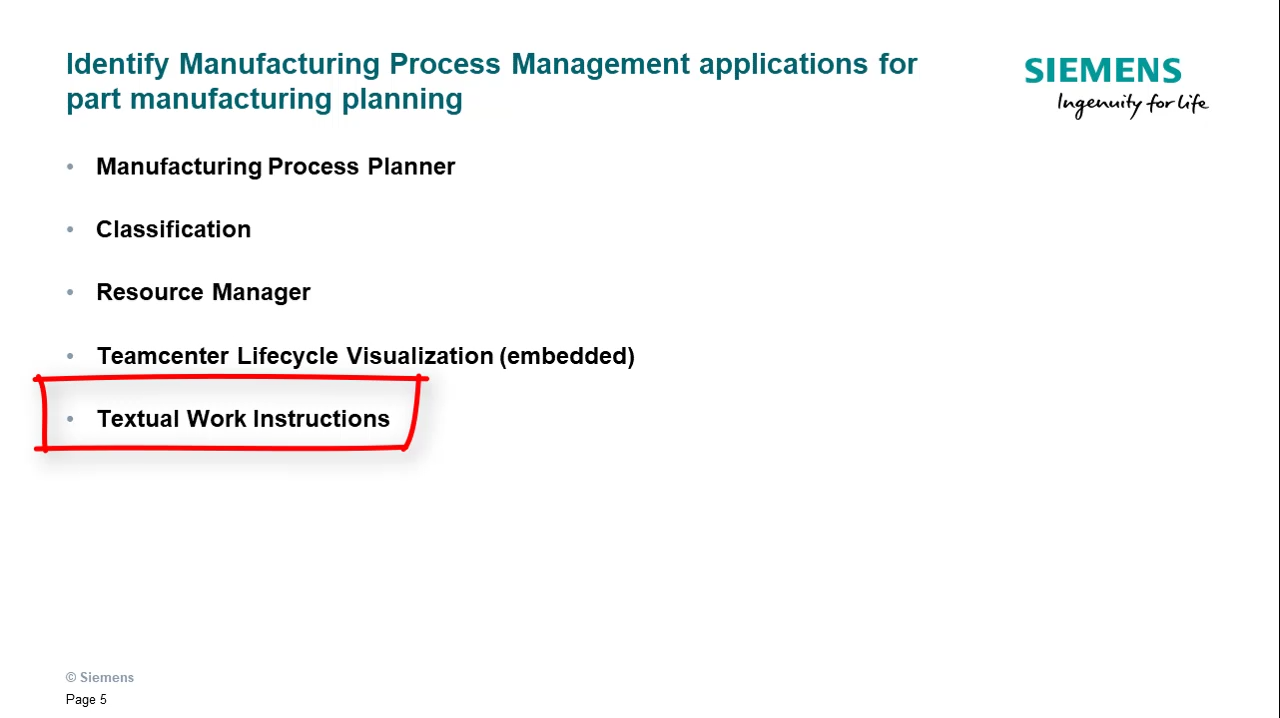Perform part manufacturing planning in Teamcenter (part 1) cover image