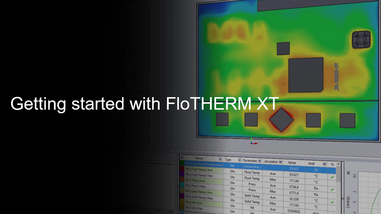 Getting Started with FloTHERM XT cover image