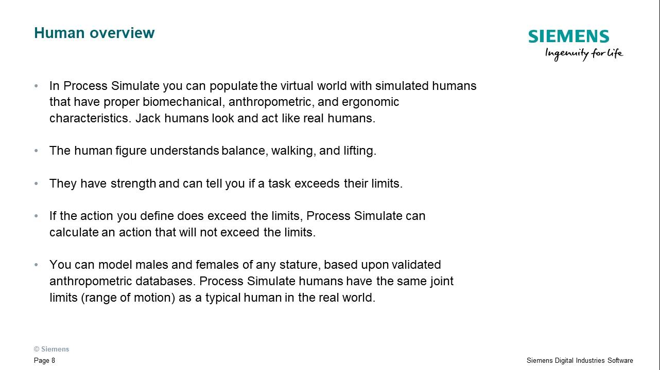 Identify human task simulation basics cover image