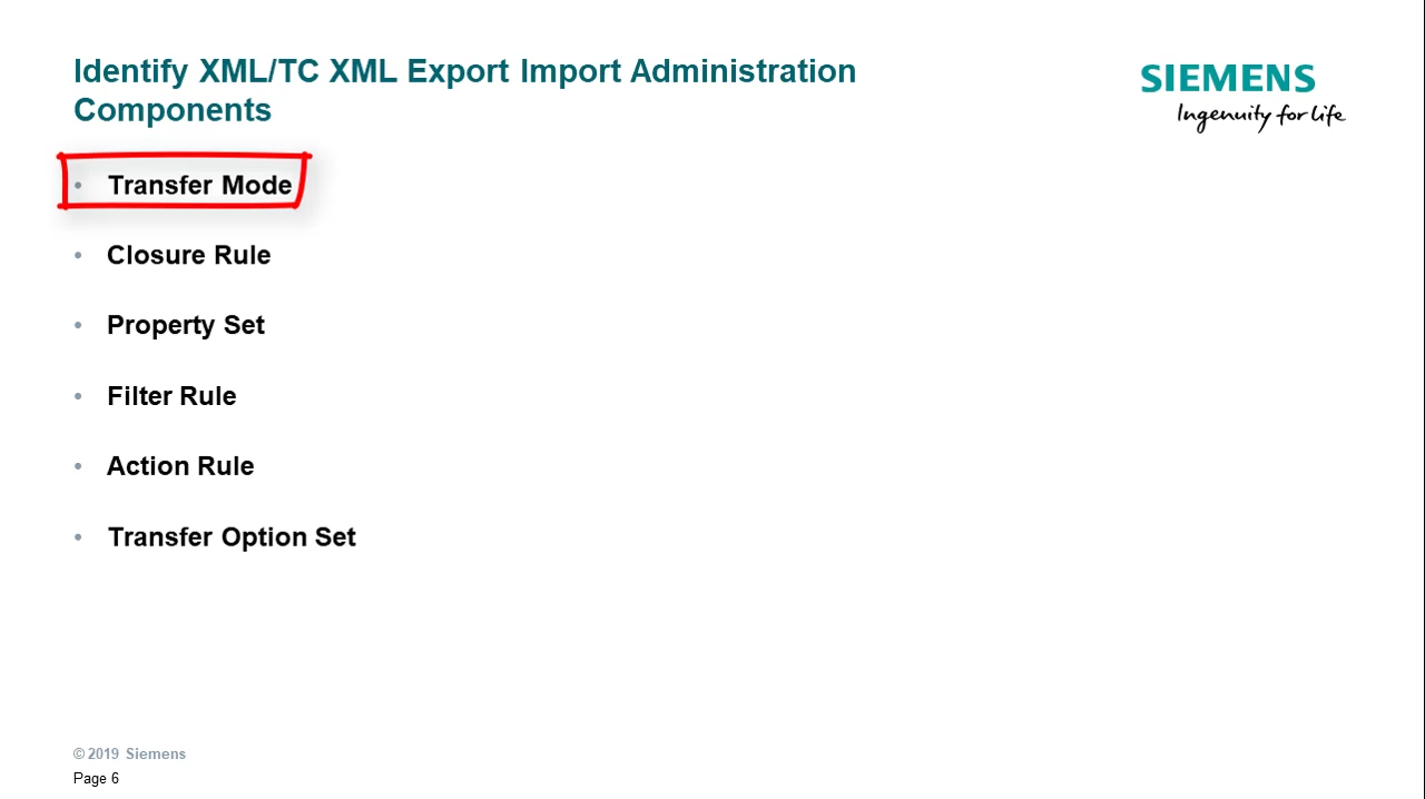 Identify the PLM XML/TC XML Export Import Administration Application cover image