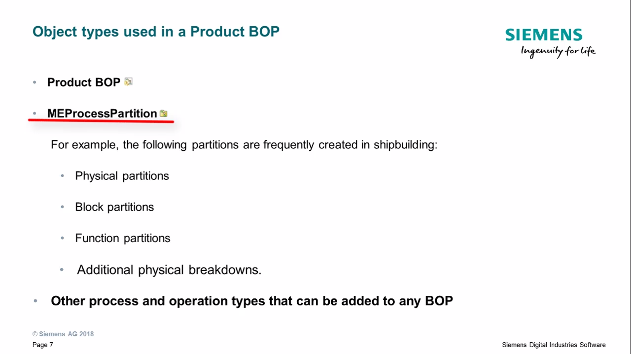 Explore optional process structures such as generic BOPs and product BOPs cover image