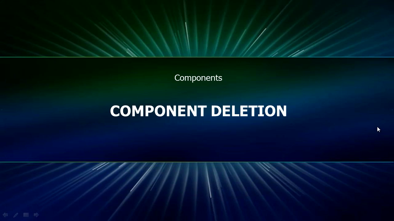 Component Deletion cover image