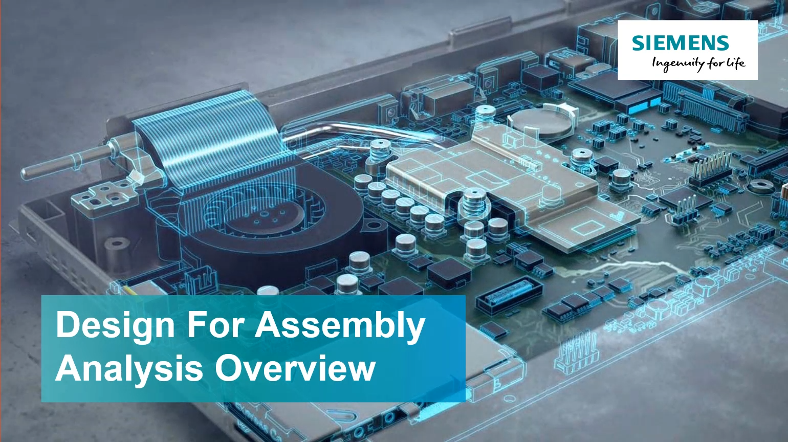 Design for Assembly Analysis Overview cover image