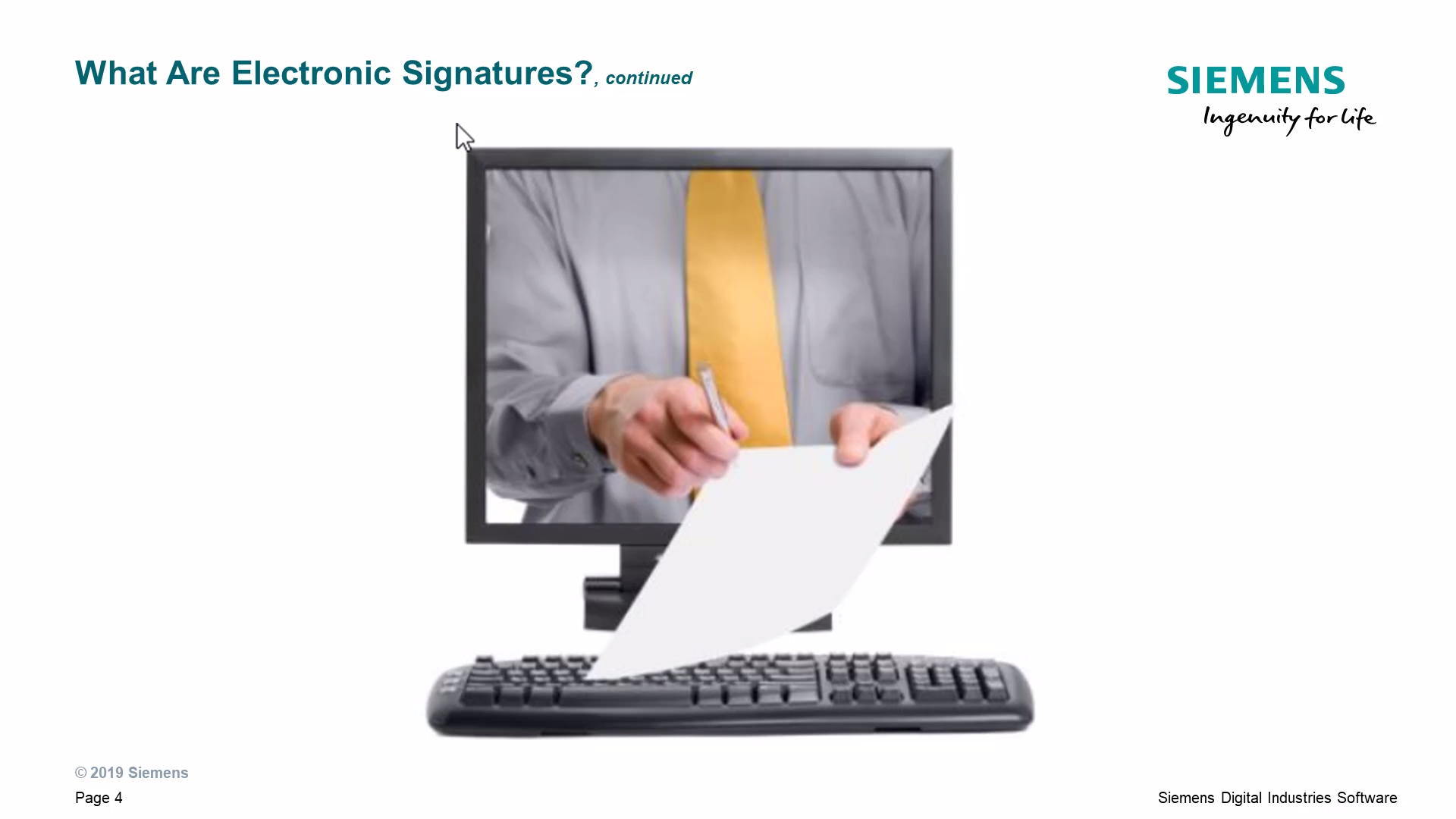 Electronic Signatures Overview cover image