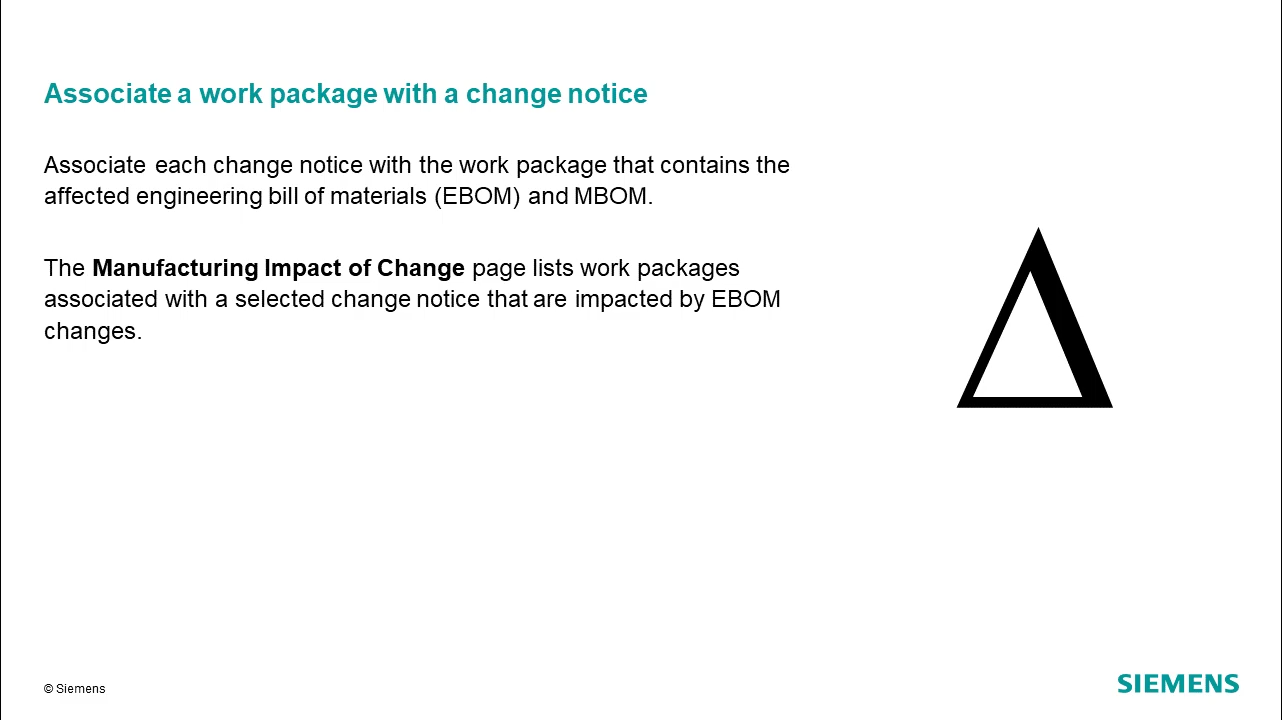 Release and revise MBOM assemblies: Manage changes cover image